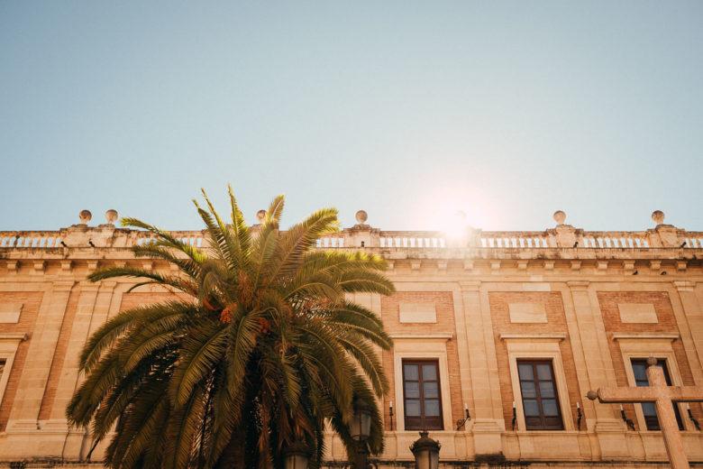 In der Altstadt von Sevilla