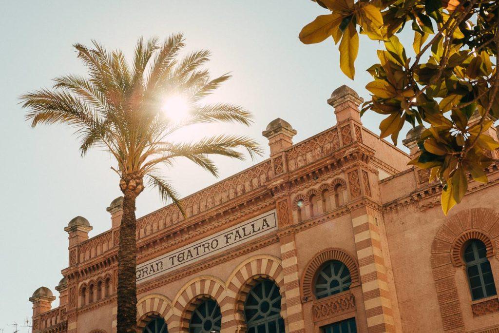 Theater in Cádiz.
