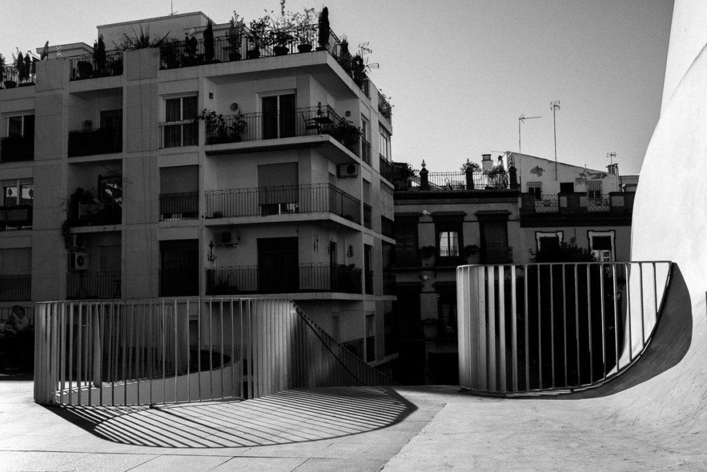 Plaza de la Encarnacion in Sevilla