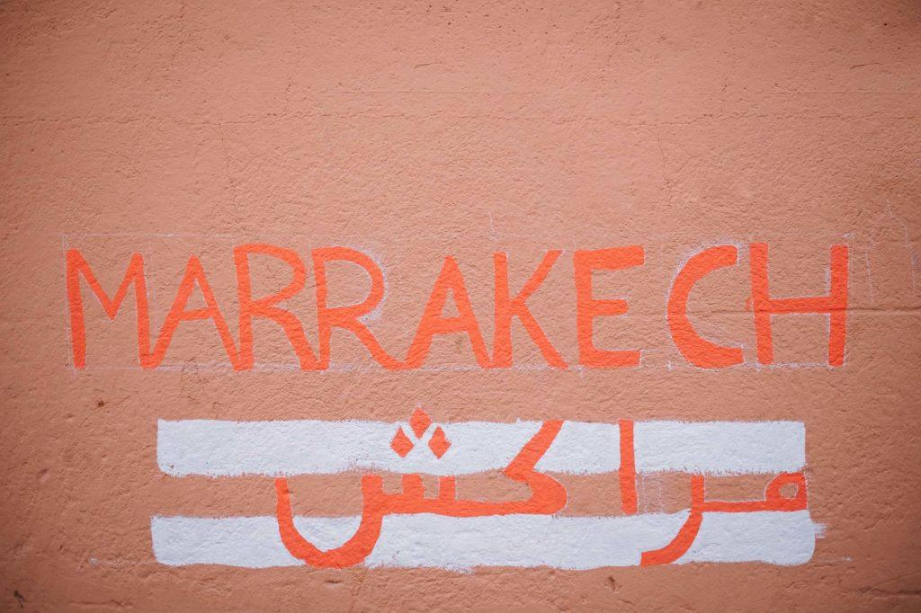 reise nach marrakesch im winter