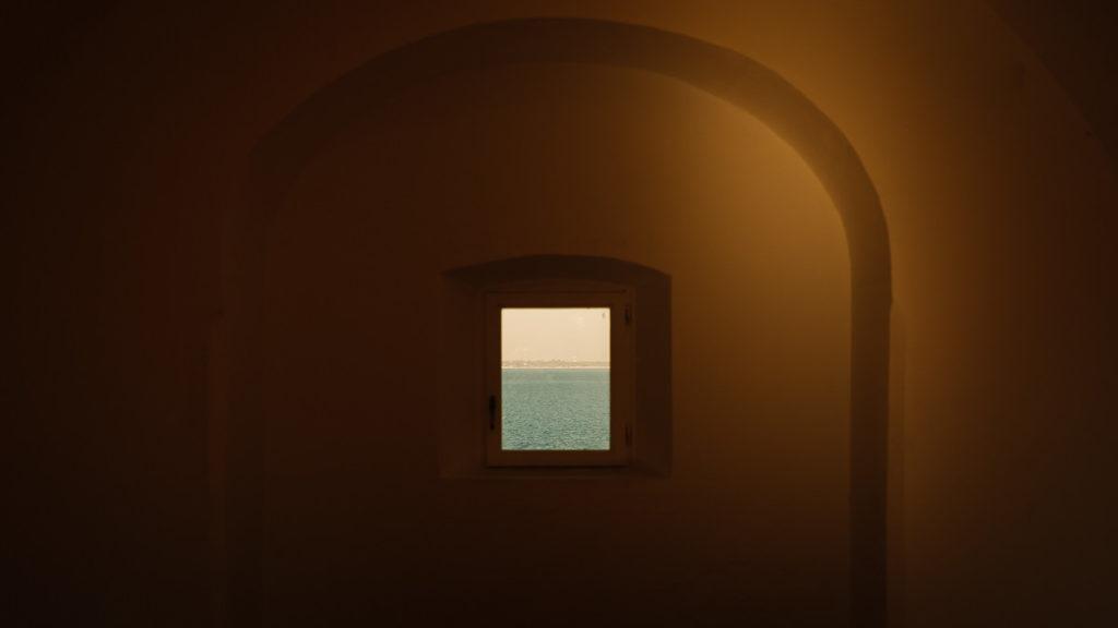 Blick aufs Meer in Cádiz.