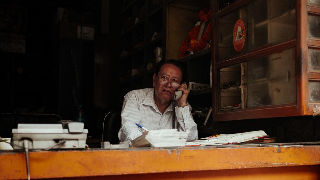 Business in Old Delhi