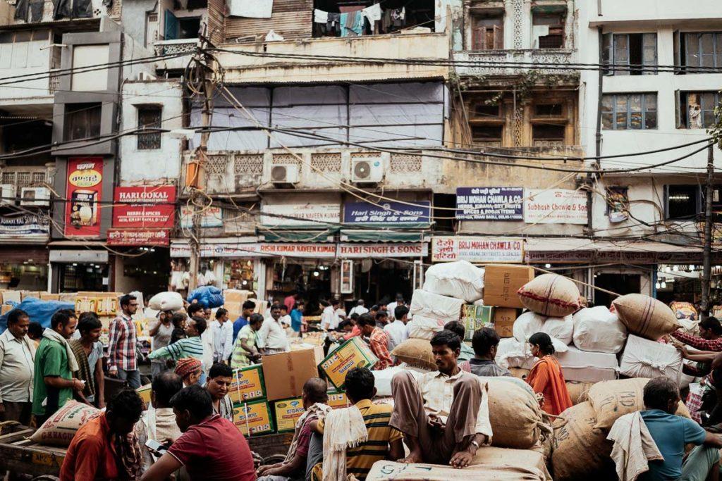 Old Delhi, Altstadt in Delhi, Indien
