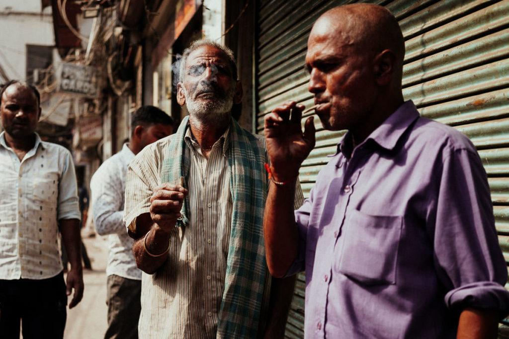 Old Delhi Straßenszene