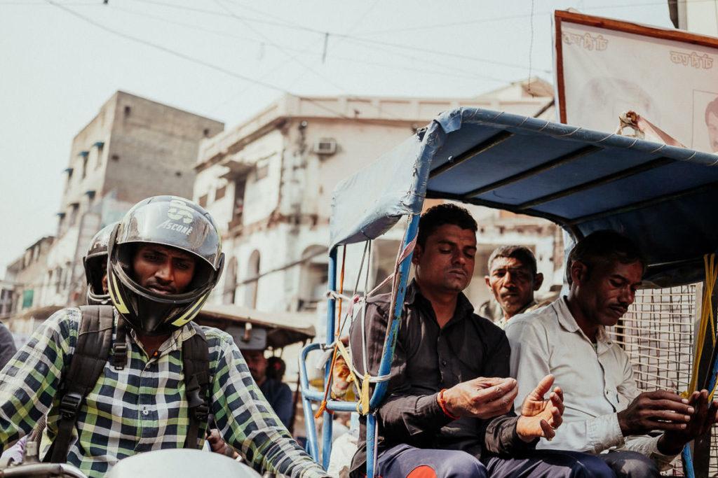 Verkehr in Old Delhi