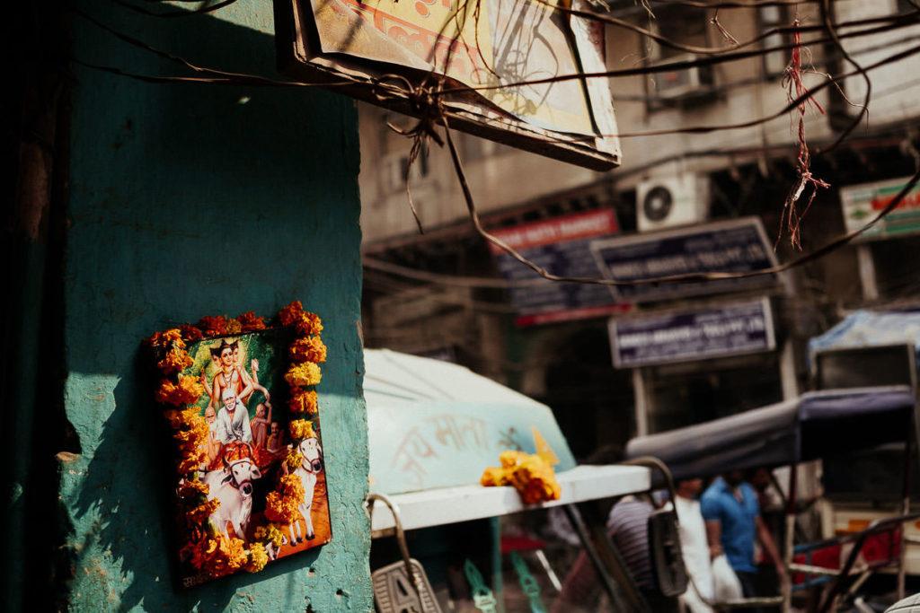 Old Delhi kur vor Diwali