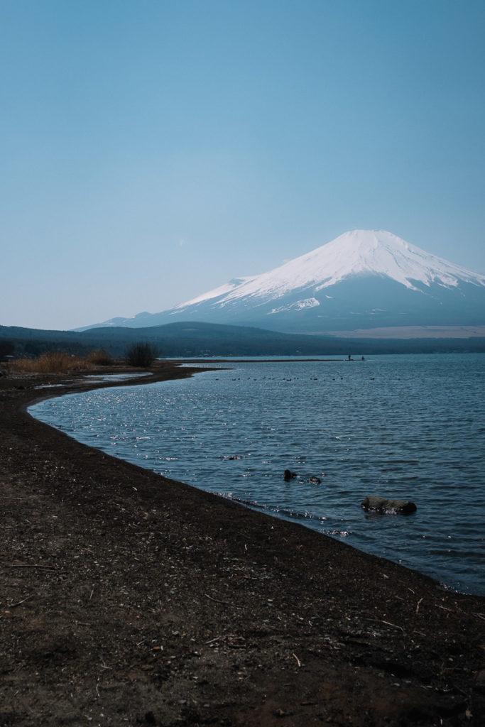Mount Fuji und Yamanakako.