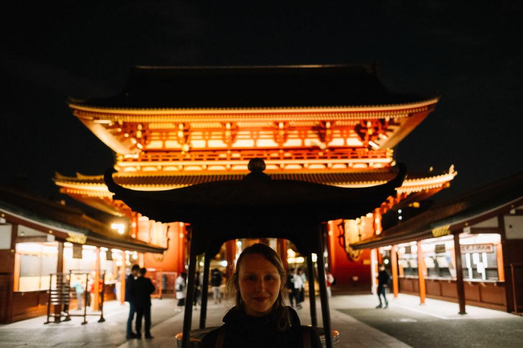 Tempel Sensō-ji, Asakusa-dera in Tokio