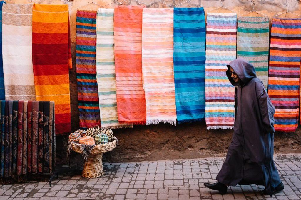 Teppiche in Marrakesch.