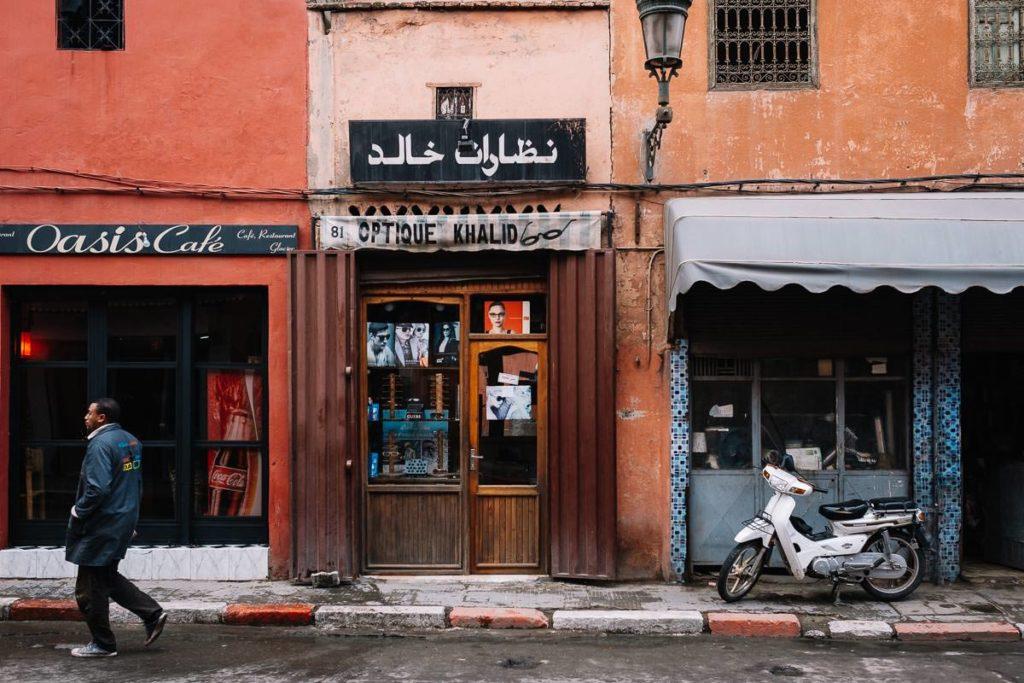Laden in Marrakesch.