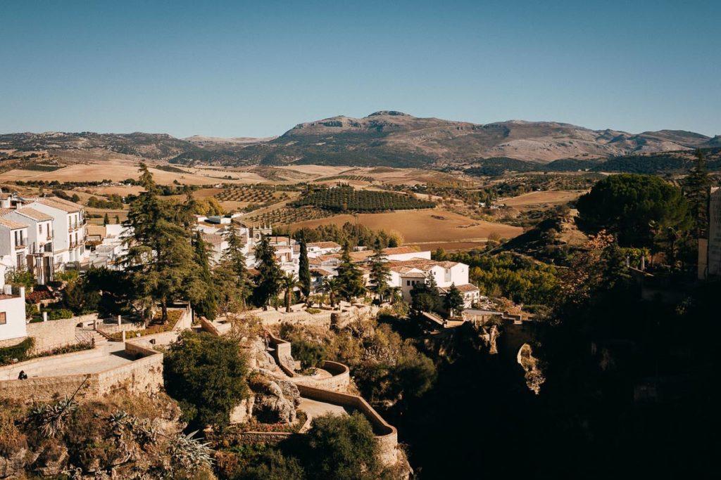 Tolle Landschaft in der Sierra de Grazalema.