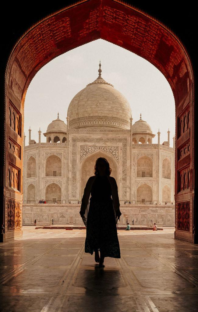 Taj Mahal in Agra, Indien
