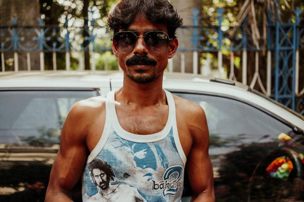 Sightseeing in Kolkata: interessante Menschen auf der Straße.