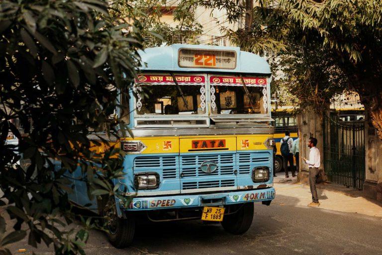 Bunter Bus in Kolkata.