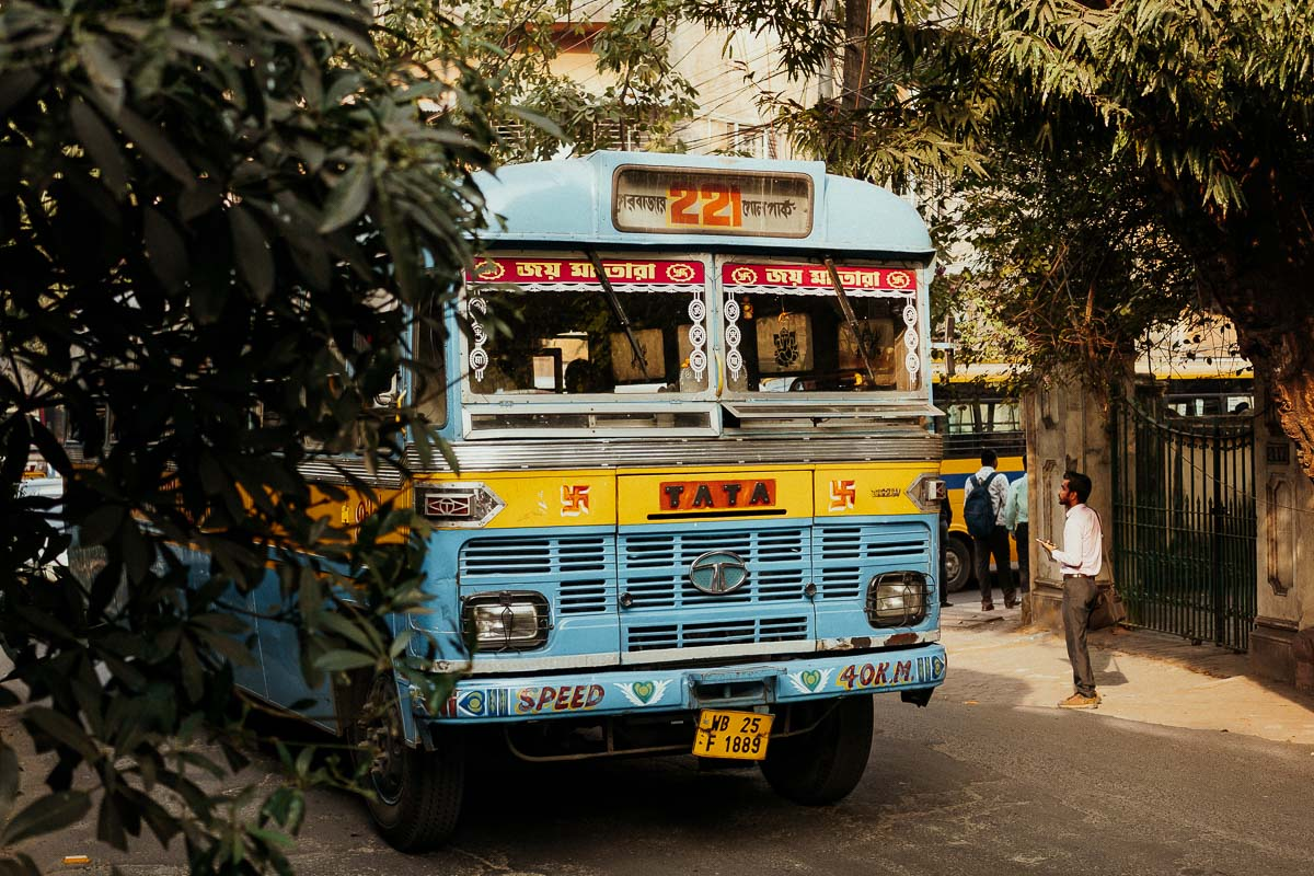 Bunter Bus in Kolkata.