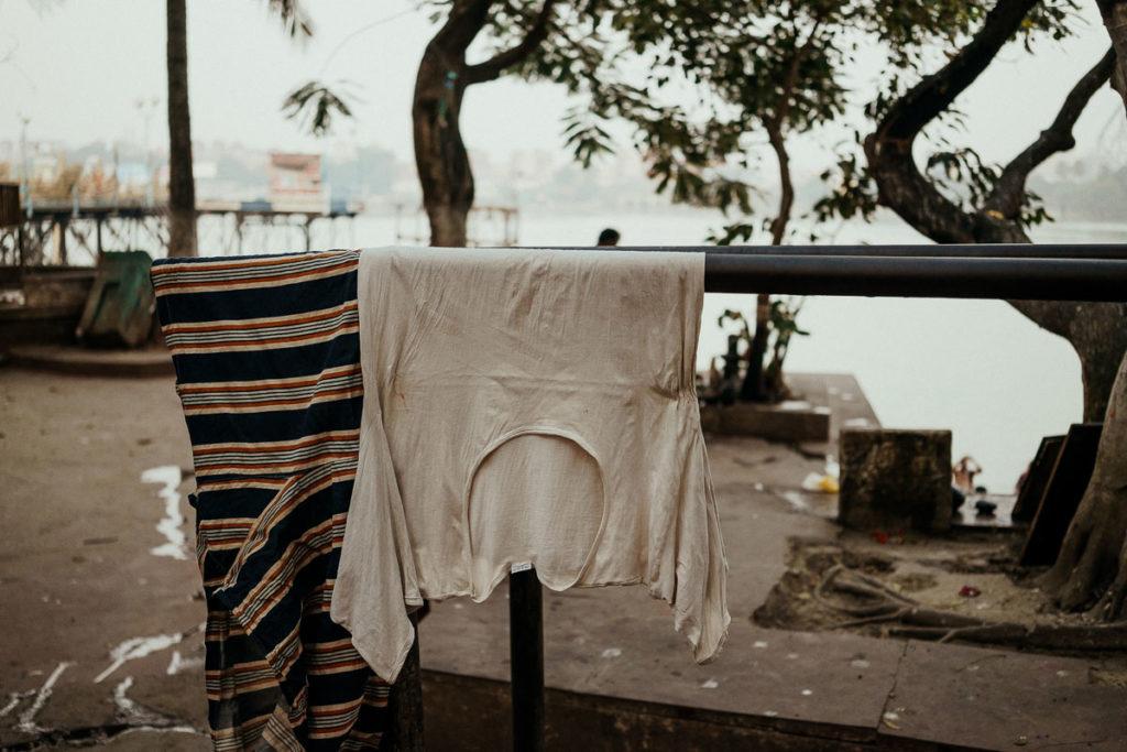 Kushti, das traditionelle Ringen in Kolkata nahe der Howrah Bridge und des Flower Market Kolkata.