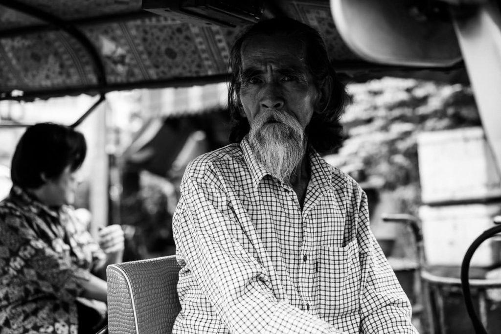 Tuktuk-Fahrer in Bangkok