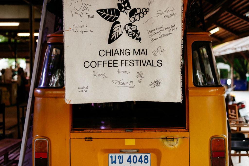 Aushängeschild des Chiang Mai Coffee Festivals