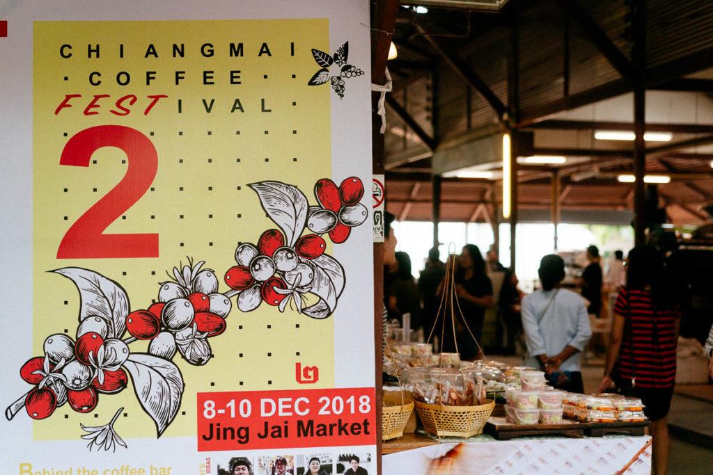 Poster 2018 fürs Kaffeefestival in Chiang Mai