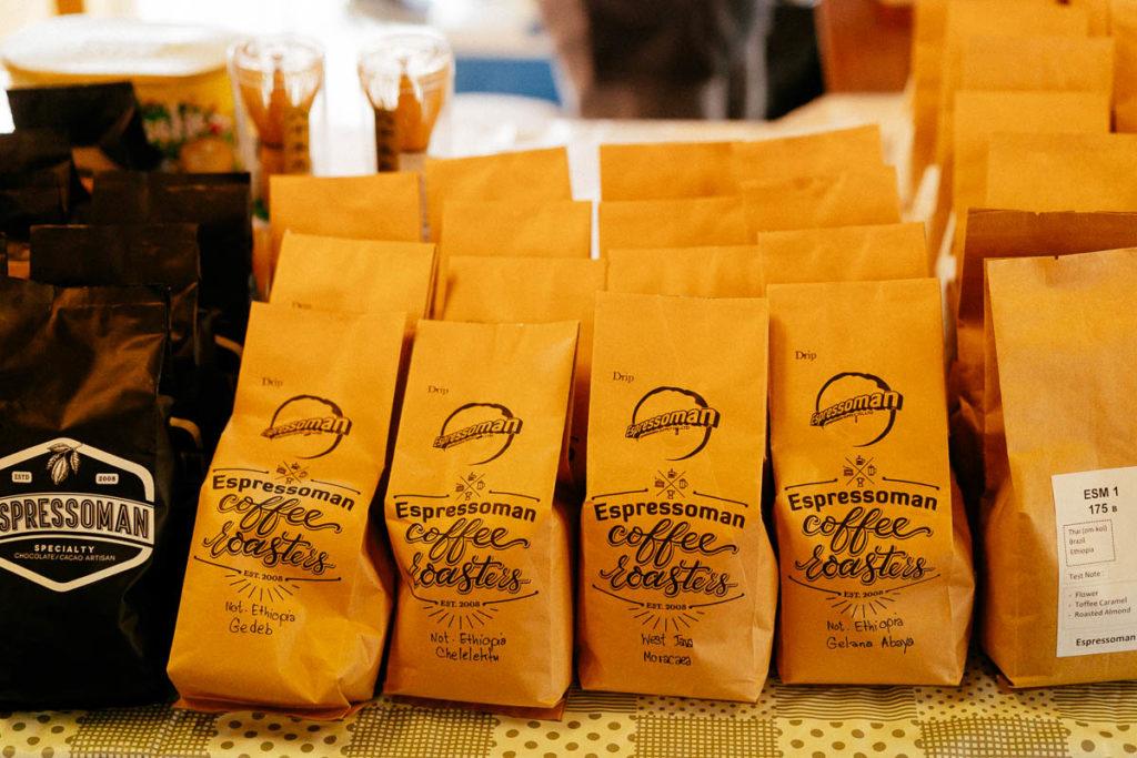 Kaffee von Espressoman Coffee Roasters auf dem Chiang Mai Coffee Festival